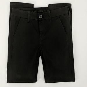 AMERICAN EAGLE Black Skinny Pants